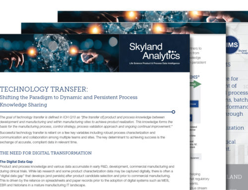 Technology Transfer: Shifting the Paradigm to Dynamic and Persistent Process Knowledge Sharing